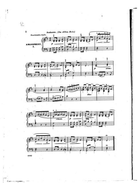 Etudes faciles et melodiques