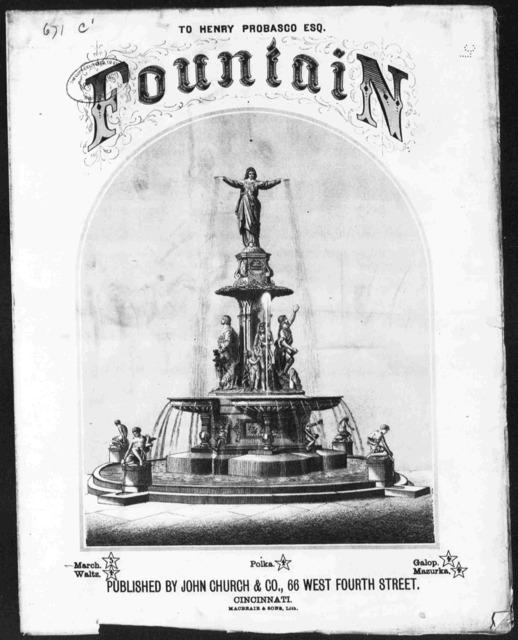 Fountain grand march