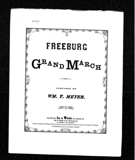 Freeburg grand march