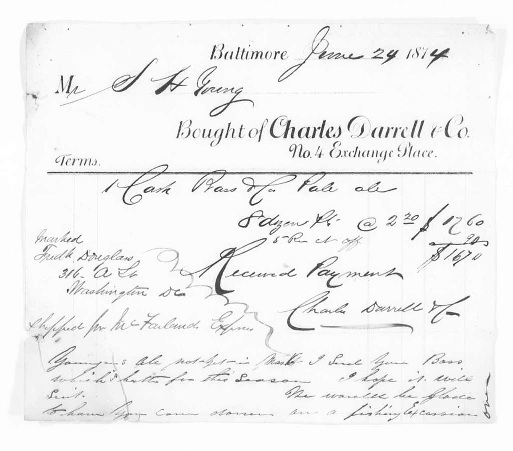 General Accounts, 1872-1903 and Undated - Folder 1 of 5