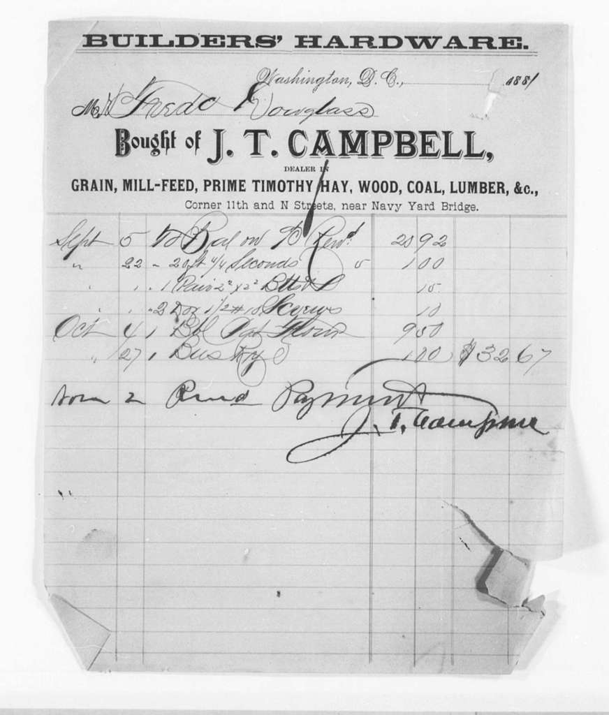 General Accounts, 1872-1903 and Undated - Folder 3 of 5
