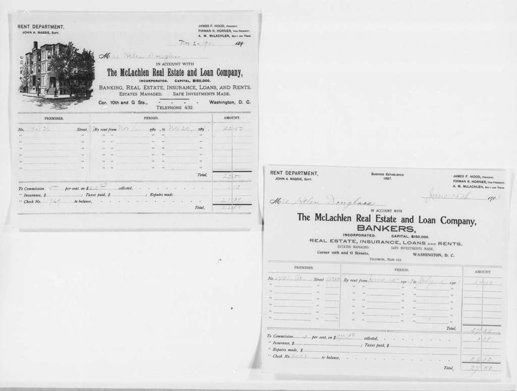 General Accounts, 1872-1903 and Undated - Folder 4 of 5