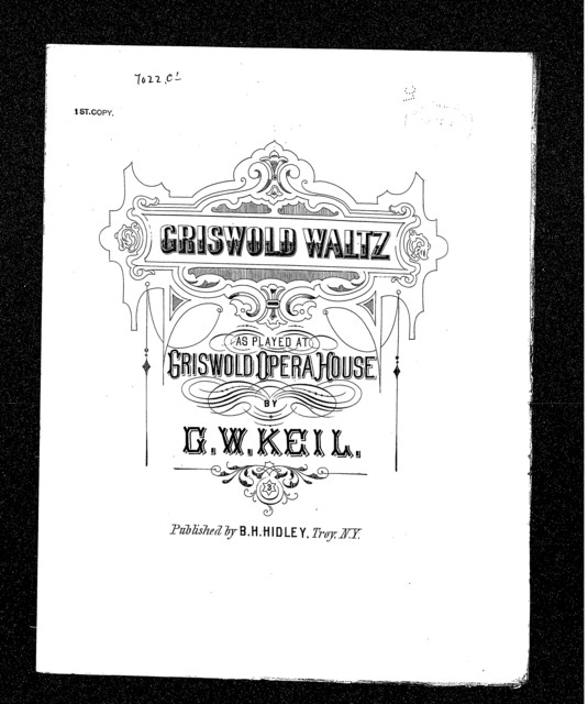 Griswold waltz