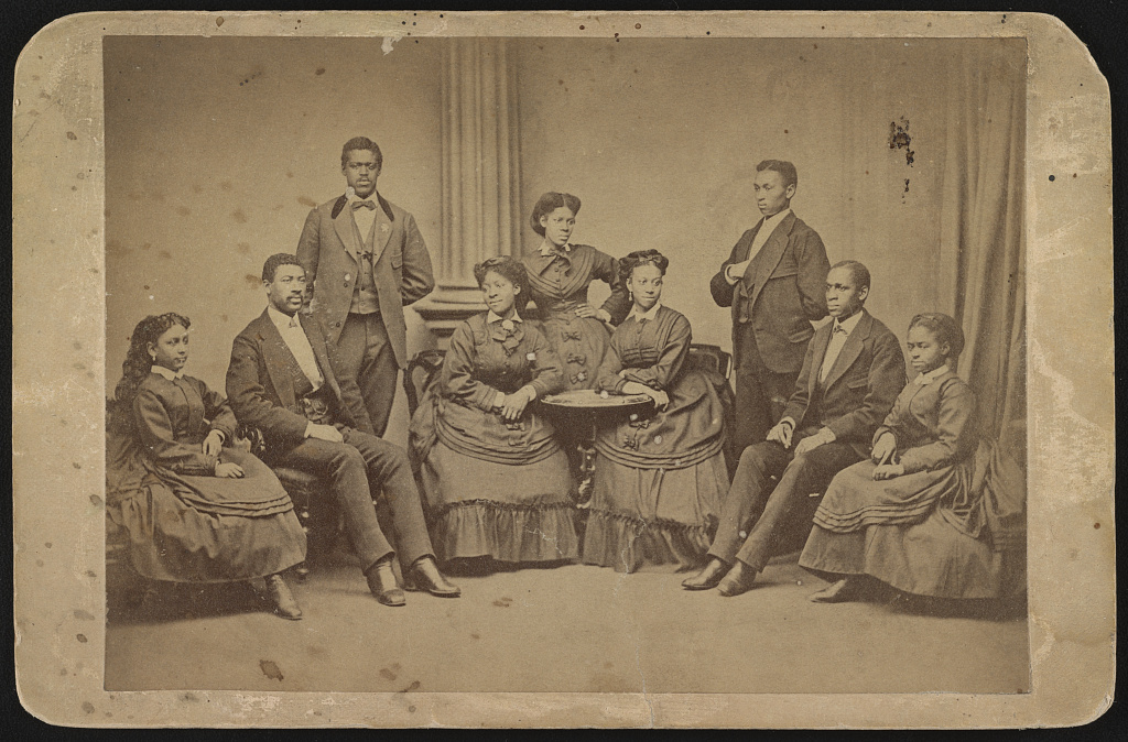 Jubilee singers, Fisk University, Nashville, Tenn. / negative by Black.
