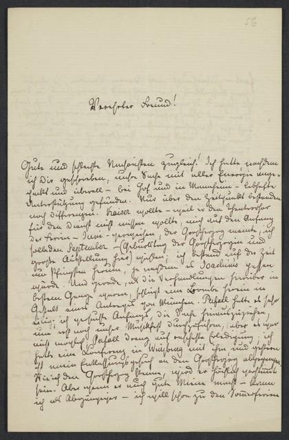 [Letter, 1872 April] 2, [to Brahms]