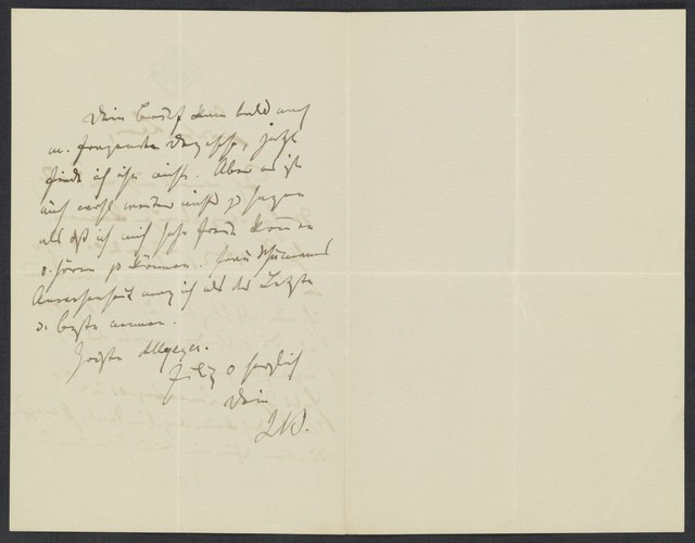 [Letter, 1872 to] Levi