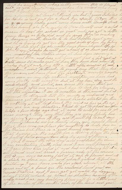 Letter from Uriah W. Oblinger to Mattie V. Oblinger, Ella Oblinger, December 8, 1872