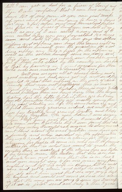 Letter from Uriah W. Oblinger to Mattie V. Thomas and Ella Oblinger, December 1, 1872