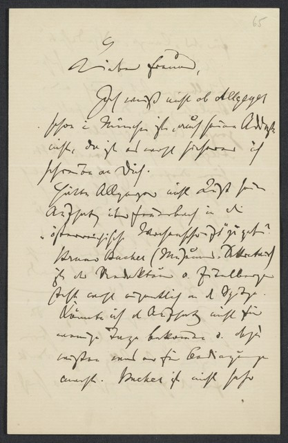 [Letter, undated to Levi ]