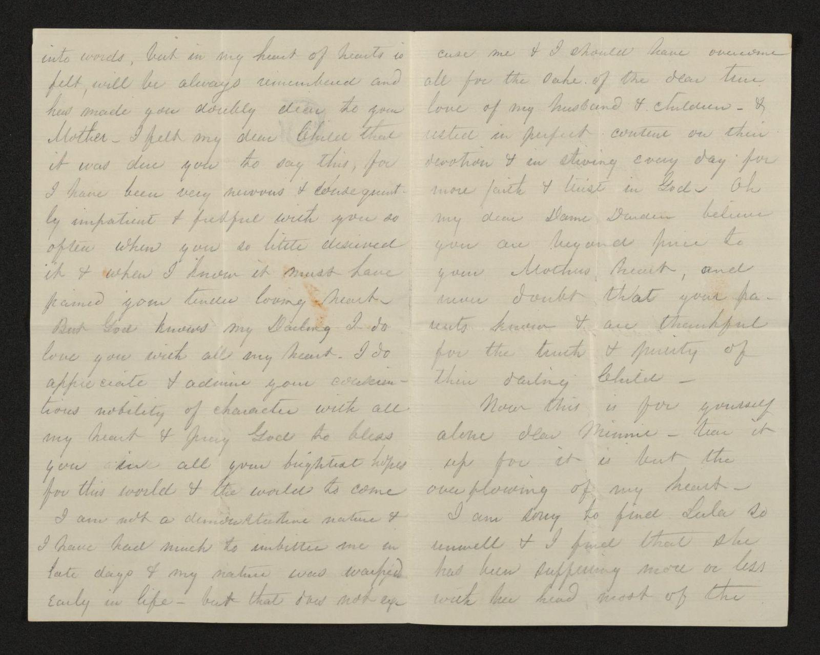 Lewis H. Machen Family Papers: Gresham Family Correspondence, 1834-1925; 1872