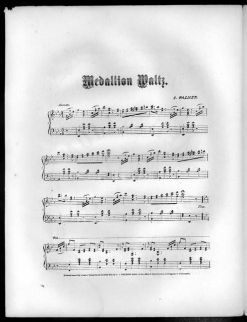 Medallion waltz