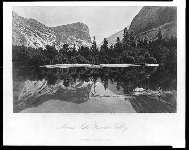 Mirror Lake, Yosemite Valley