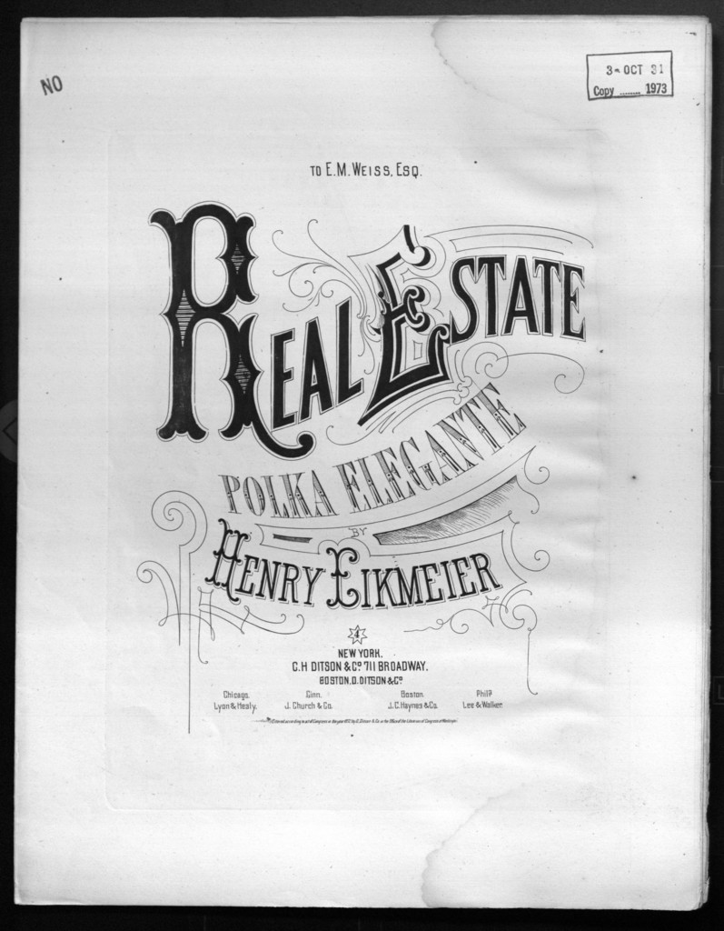 Real estate, op. 66