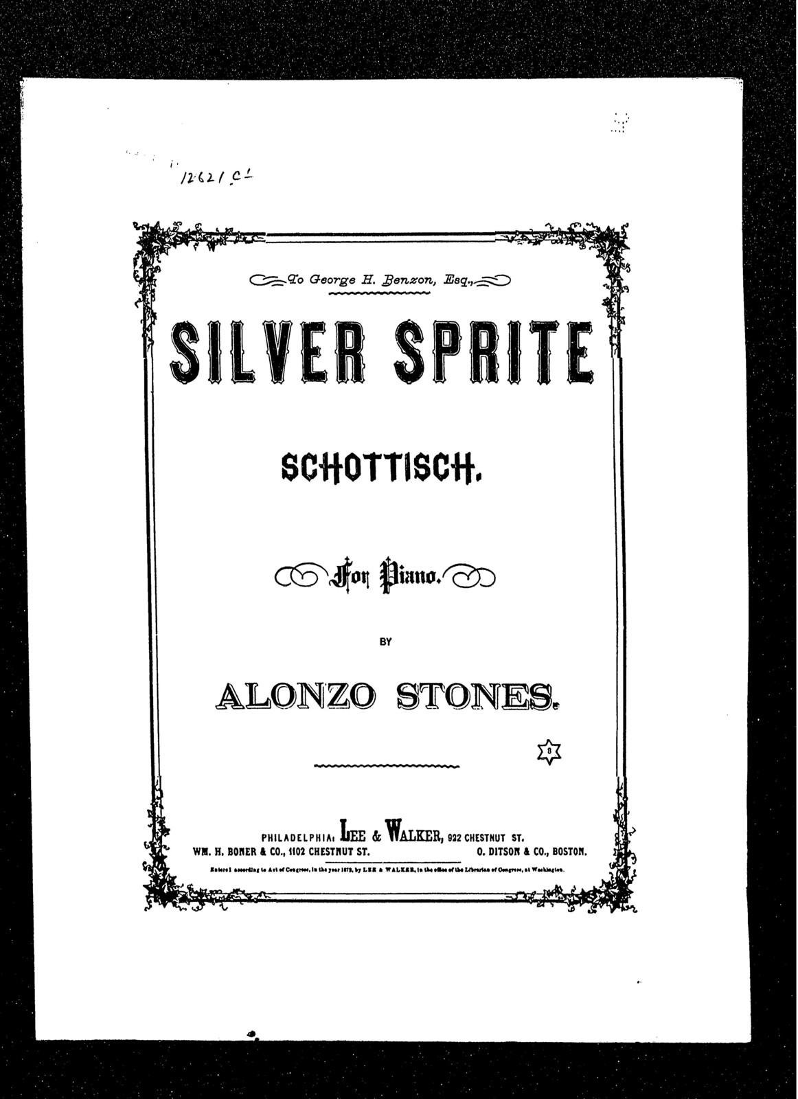 Silver sprite schottische