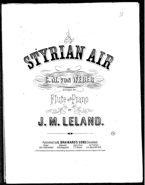 Styrian Air by Weber