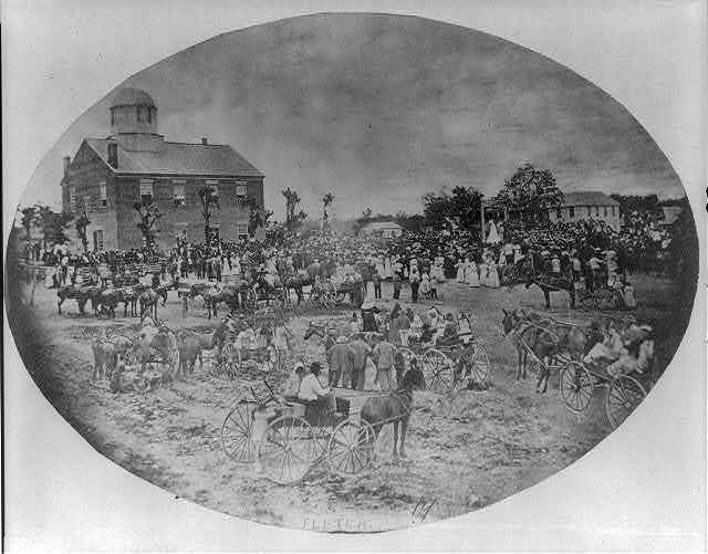 Tenn. - Smithville - Hanging of Presswood in courthouse square