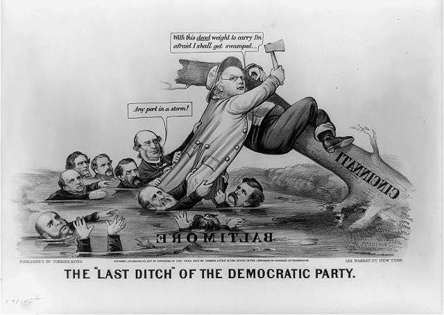 """The """"last ditch"""" of the democratic party"""