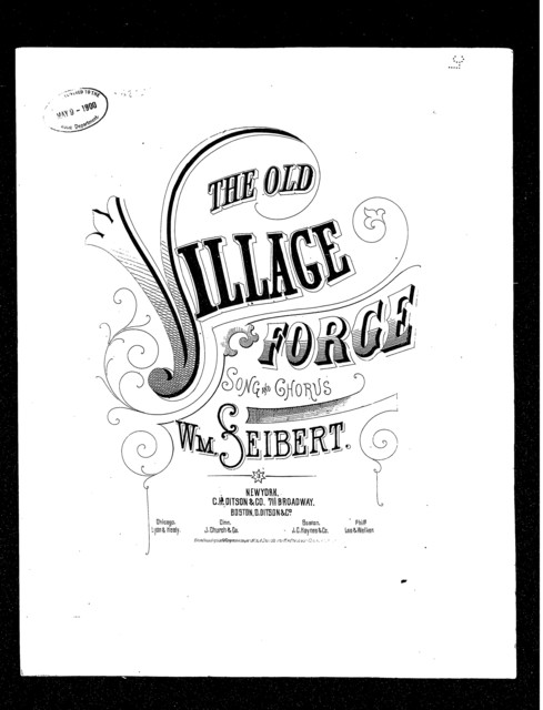 The  Old village forge