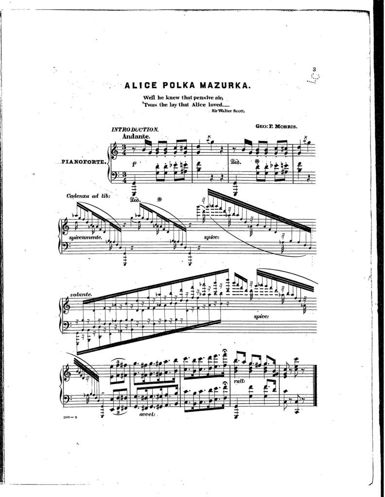 Alice polka mazurka