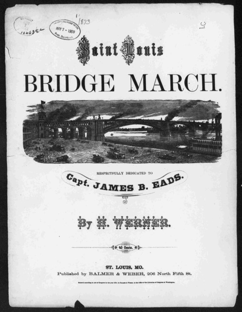 Bridge march [title page only]