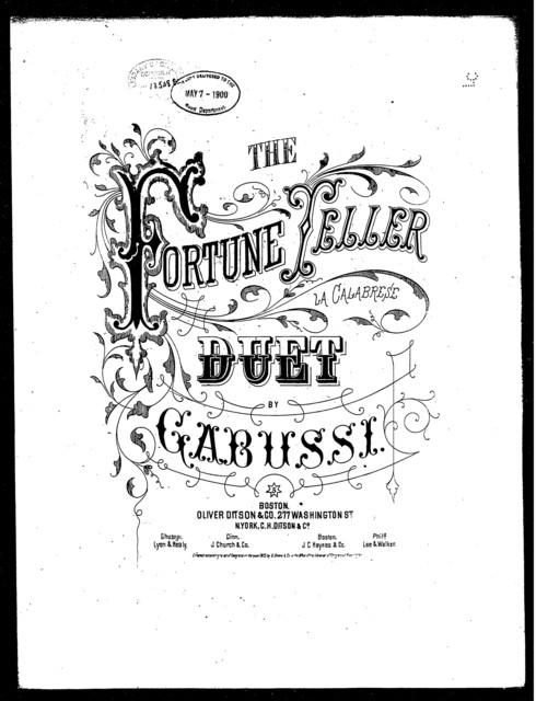 Fortune teller, The - La Calabrese