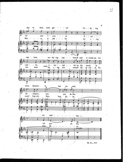 Fragment from Goethe's Faust