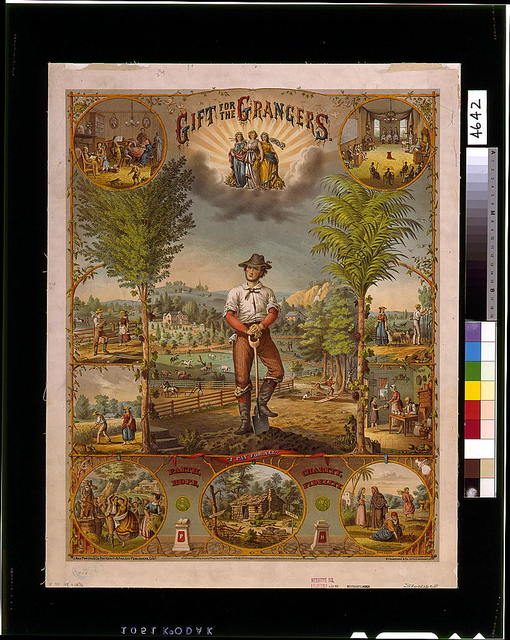 Gift for the grangers / J. Hale Powers & Co. Fraternity & Fine Art Publishers, Cin'ti. ; Strobridge & Co. Lith. Cincinnati, O.