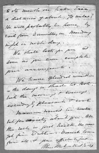 Letter from Alexander Melville Bell to Alexander Graham Bell, July 5, 1873