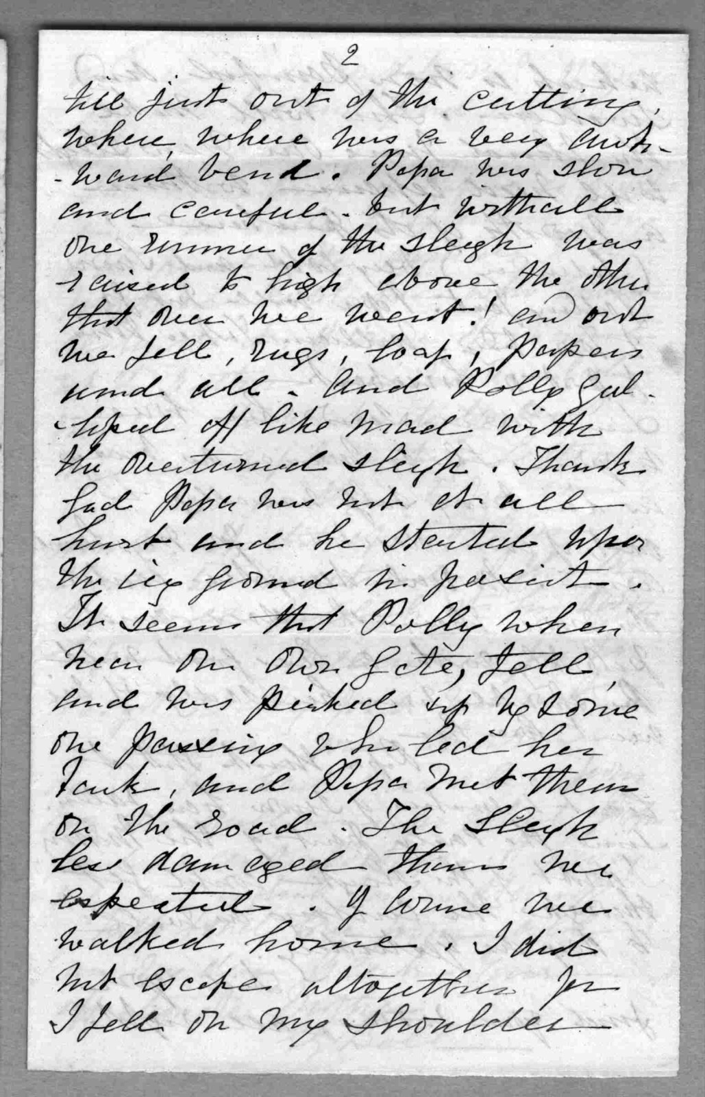 Letter from Eliza Symonds Bell to Alexander Graham Bell, January 17, 1873