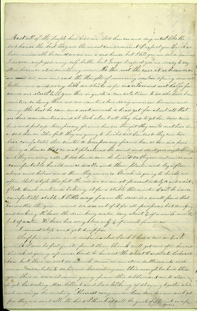 Letter from Mattie V. Oblinger to George W. Thomas, Grizzie B. Thomas, and Wheeler Thomas Family, June 16, 1873