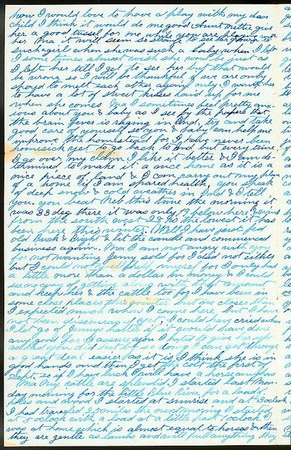 Letter from Uriah W. Oblinger to Mattie V. Oblinger, Ella Oblinger, February 16, 1873