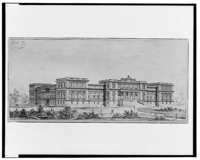 [Library of Congress, Washington, D.C. Perspective]