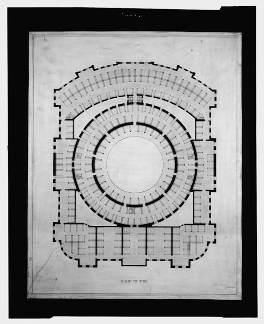[Library of Congress, Washington, D.C. Plan of top story]