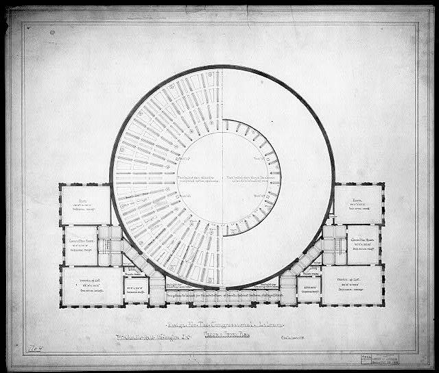 [Library of Congress, Washington, D.C. Second story plan]