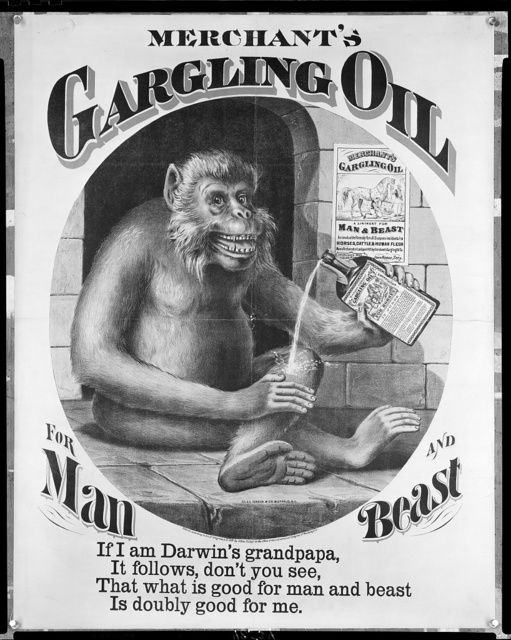 Merchant's gargling oil for man and beast