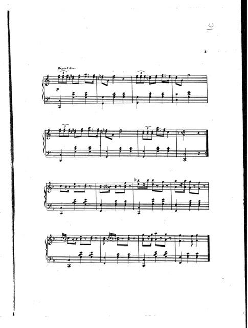 Monogram polka mazurka