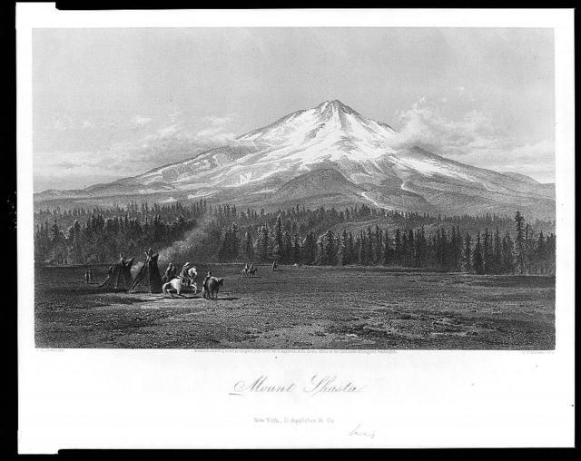 Mount Shasta / S.S. Gifford ; E.P. Brandard.