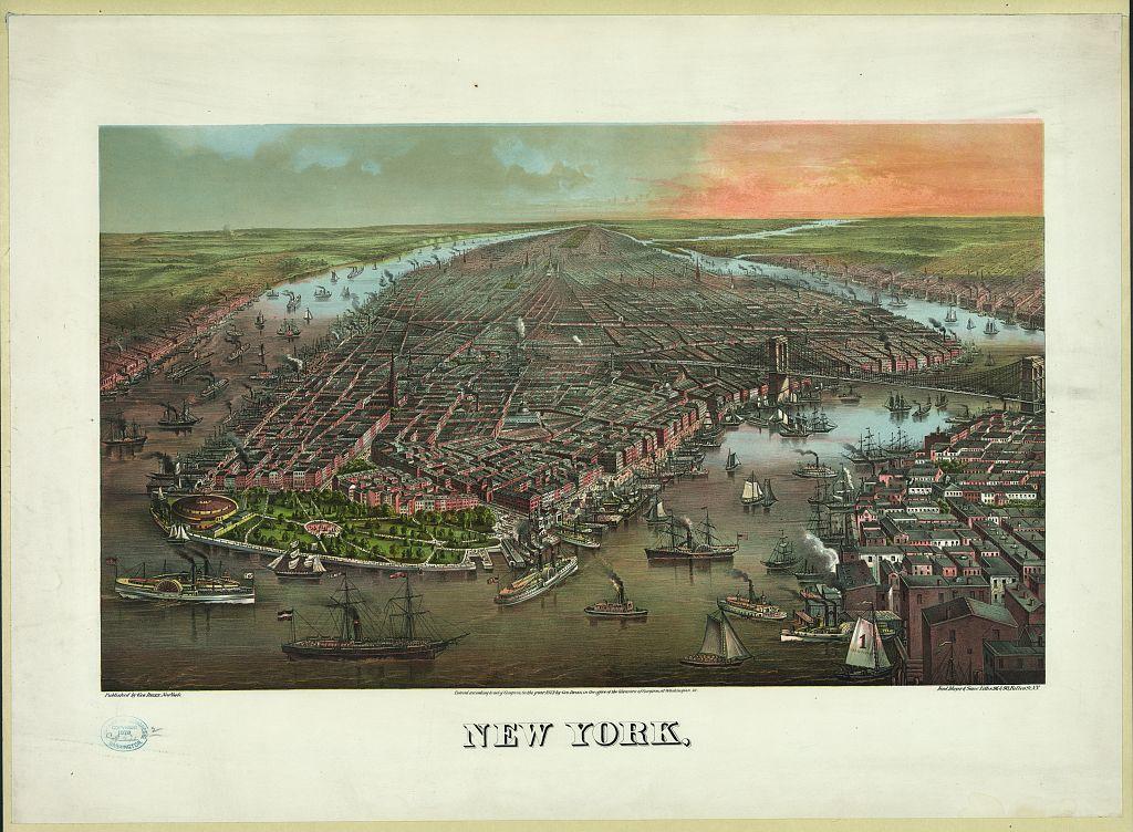 New York, / Ferd. Mayer & Sons, Liths., N.Y.