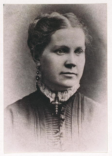 Photographic portrait of Anna Spafford, [Chicago, llinois]