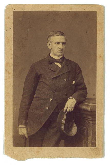 Photographic portrait of Horatio Gates Spafford, Paris, France