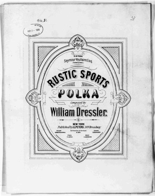 Rustic sports polka