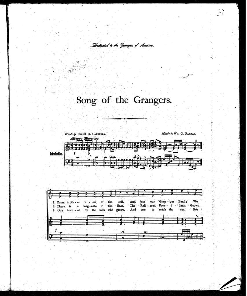 Song of the Grangers