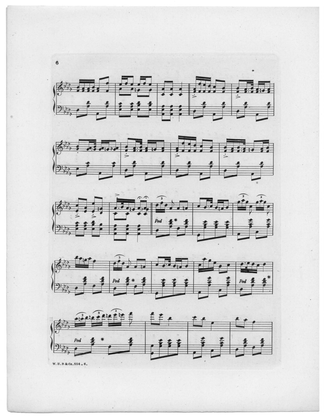 Summer pleasure's polka, op. 5