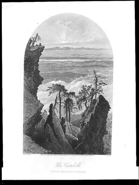 The Catskills--Sunrise from south mountain / Harry Fenn ; S.V. Hunt.
