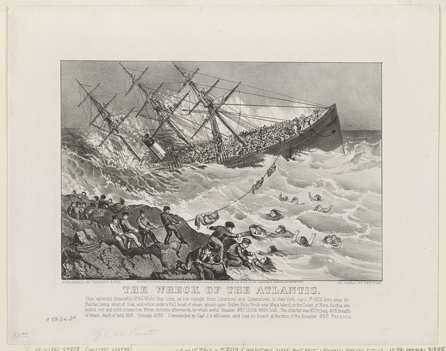 The wreck of the Atlantic