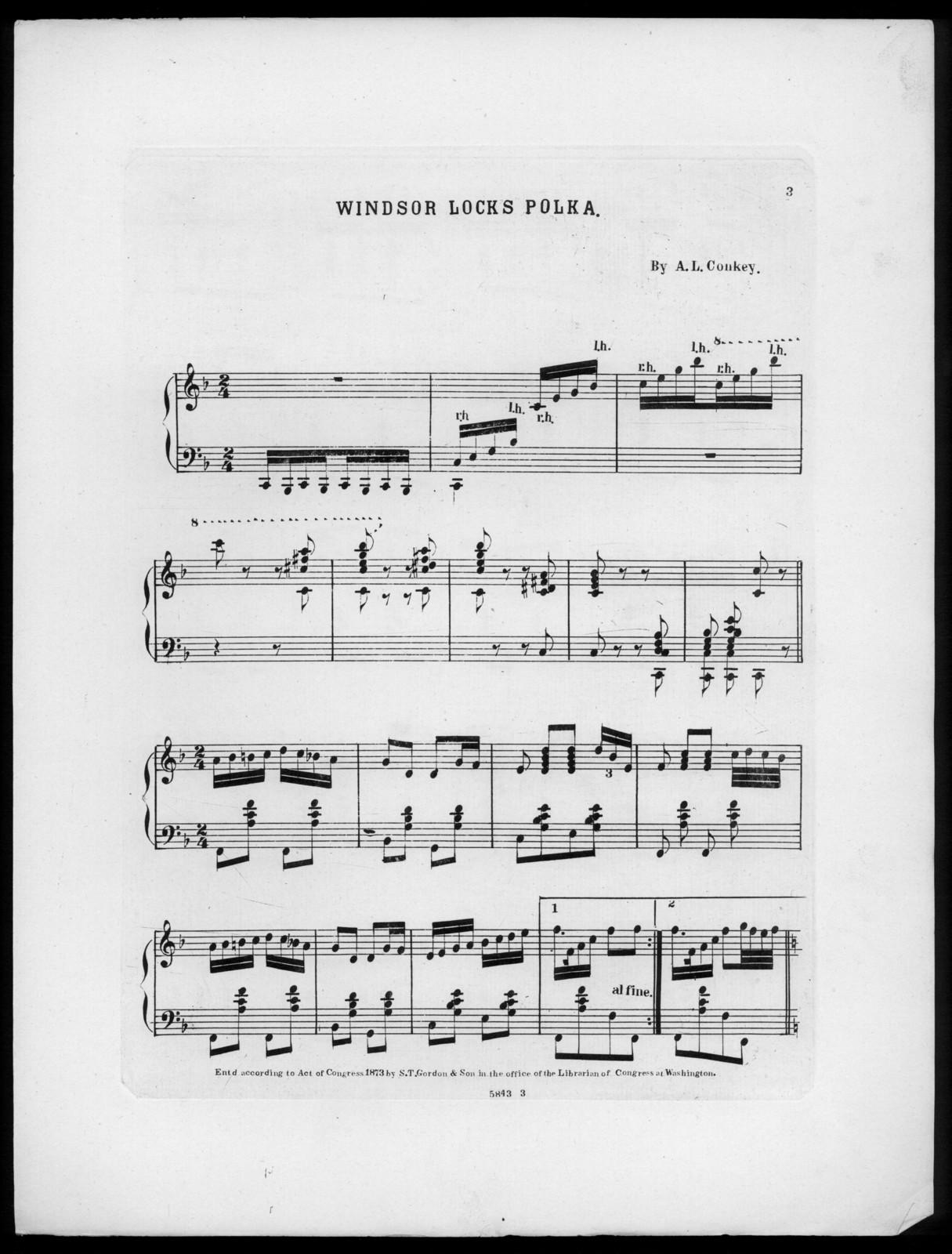 Windsor lock's polka