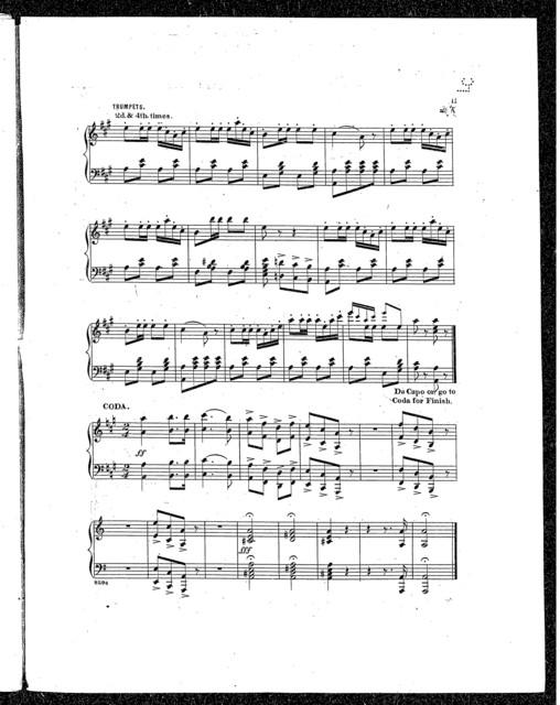 Barnum's grand roman Hippodrome quadrille