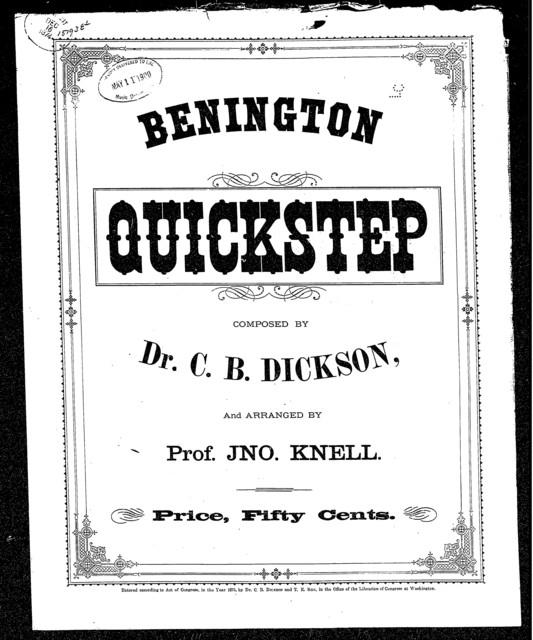 Benington quick step