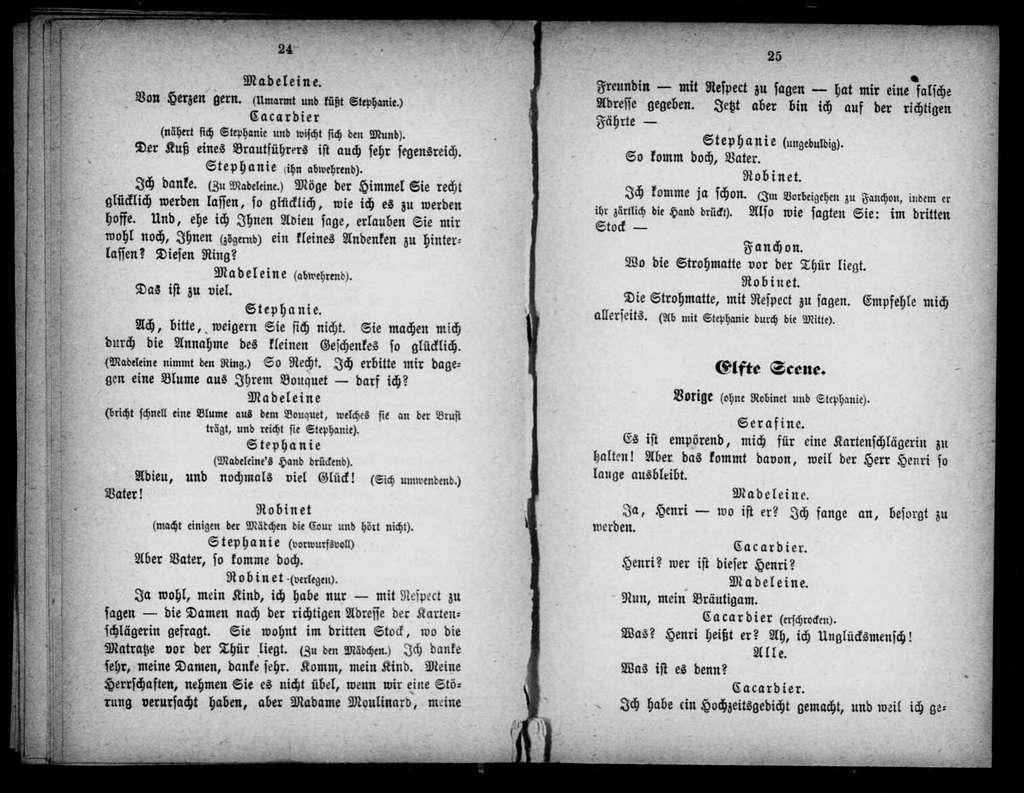 Diva. Libretto. German