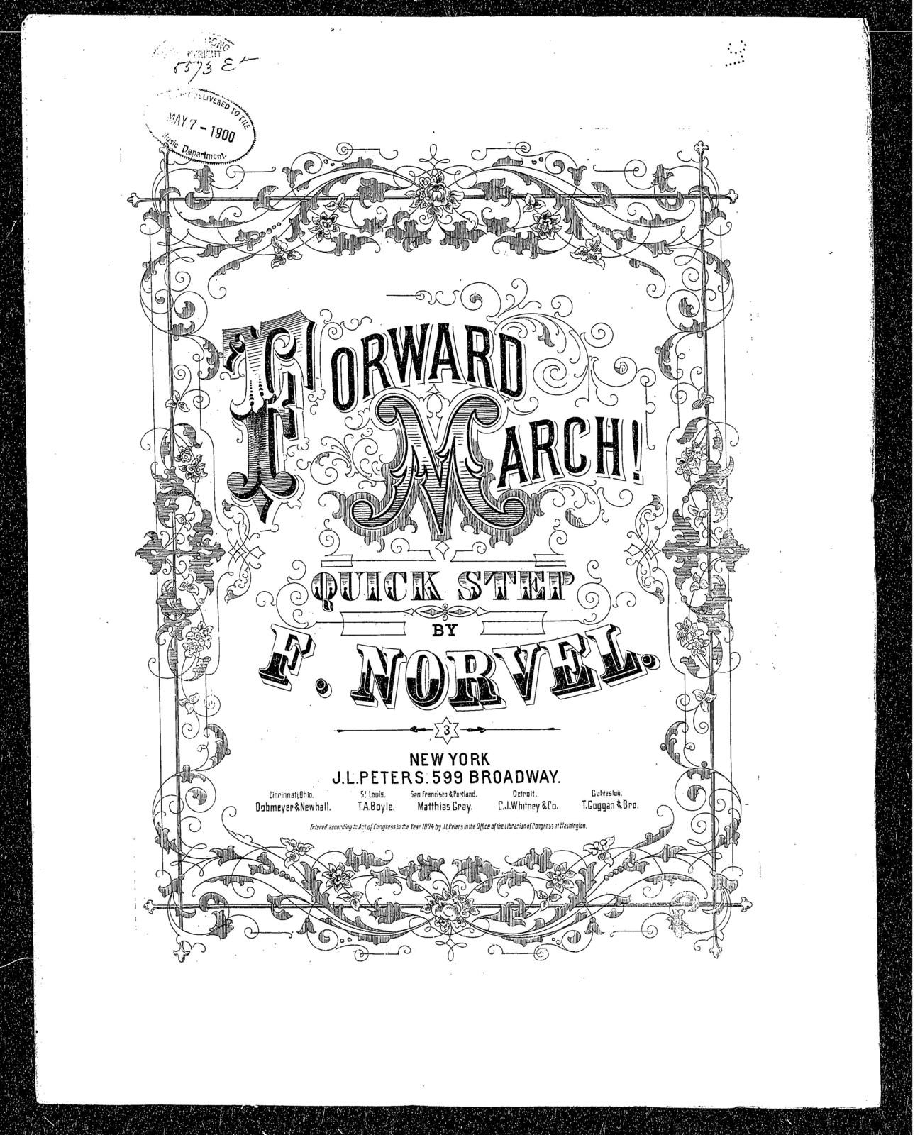 Forward march quickstep
